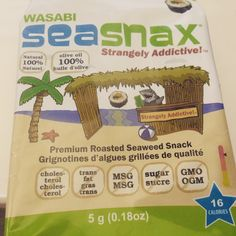 At #HealthExpo 2015 with thousands of vendors, this was my favorite brand and snack!  @Seasnax Seaweed sooo addictive!