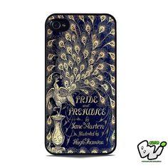 Book Blue Cover Jane Austen iPhone 5 | iPhone 5S Case