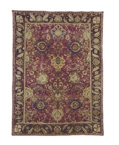 An Agra Carpet  500 Years: Decorative Arts Europe Including Oriental Carpets