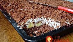 Krtkov plech: Ide o najlepší hrnčekový recept, aký poznám – vychvaľuje mi ho celá rodina! Tiramisu, Pudding, Sweets, Ethnic Recipes, Cakes, Matilda, Blog, Basket, Cream Puff Dessert