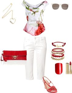 """""""Roses are Red"""" by gracehands on Polyvore"""