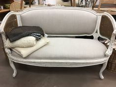 Stunning settee at the Agoura Antique Mart!