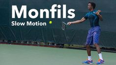 Monfils Slow Motion I Forehand & Backhand I Miami Open 2015