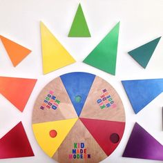 Learn your color combos with #craftingcommunity's @Kid Made Modern for @Target installation.