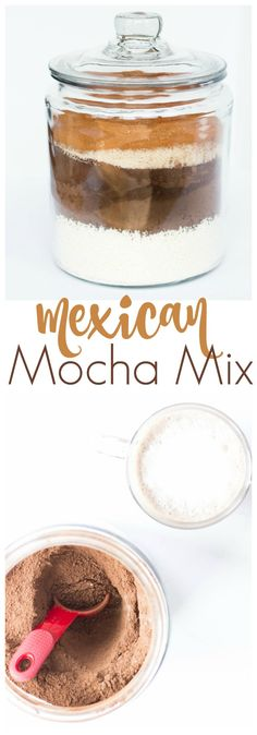 You'll love this easy Mexican Mocha Mix! It has rich dark chocolate and espresso flavor with a little spice!