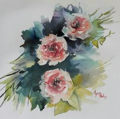 Watercolor by Aynur Akalin.Turkey