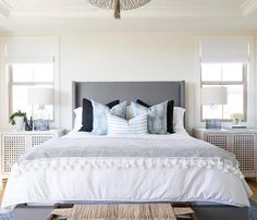 """714 Likes, 5 Comments - Becki Owens (@beckiowens) on Instagram: """"Another shot from the #estilloproject master bedroom! More details + images on Beckiowens.com!…"""""""