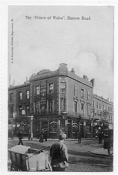 Prince of Wales, 351 Harrow Road, Paddington Vintage London, Old London, West London, London Pubs, Hill Station, Maida Vale, London Life, History Photos, London Photos