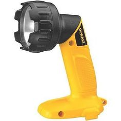 Work Light Area 981-Lumen Fluorescent Handheld Rechargeable Battery Flashlight