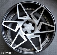 1. Loma Nemesis Custom Forged Prototype - $ 25,000 / set  LOMA is an exclusive manufacturer of wheels. The special set sold by them is called Nemesis. This set was made in only 50 copies, meaning only 50 cars enjoy these wheels really spectacular. They are made of the most expensive alloy, hand forged and stamped with the unique number. Wheels are so special that LOMA replace each wheel damaged by the client. The set cost $ 25,000... and all 50 sets were sold like hotcakes.
