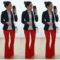 Na lida com Anita – Página: 4 – Anita Bem Criada Smart Casual Outfit, Casual Chic, Work Fashion, Fashion Outfits, Flare Jeans Outfit, Lawyer Outfit, Look Blazer, Professional Attire, Business Outfits