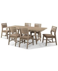 Kips Bay 7 Piece Dining Room Furniture Set With 6 Side Chairs