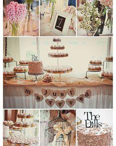 dessert bar! Wedding Bride, Fall Wedding, Wedding Events, Wedding Cake, Rustic Wedding, Dream Wedding, Dessert Buffet, Dessert Tables, Dessert Bars