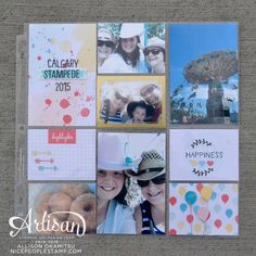 nice people STAMP!: Project Life by Stampin' Up! - Memories in the Making: Sale-a-bration International Blog Hop
