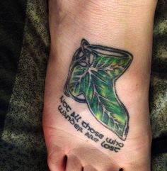 Lord of the Rings #tattoo