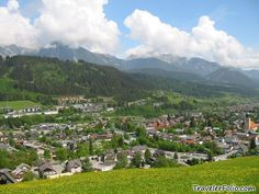 Schladming, Austria.  (Where I was once lucky enough to call home.)