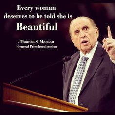 General Priesthood Session - Fall 2012... I love president monson... So much. :)