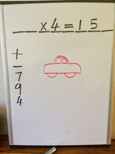 Math version of the game Hangman!