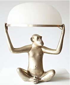 Lalanne Monkey Lamp