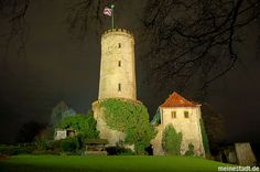 Sparrenburg by Night ~ my Hometown Bielefeld ~ Germany