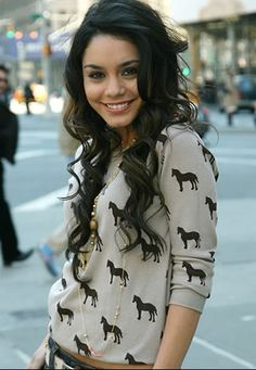 Vanessa H. love how she rocks the curls, and her outfits cute too ;)