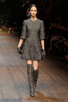 79862dca1b3 Dolce   Gabbana Women Fashion Show Gallery – Fall Winter 2014 2015  Collection  the shoes