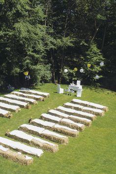 Romantische Gartenhochzeit von Hanna Witte | Hochzeitsblog - The Little Wedding Corner