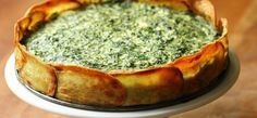 Spinach and spring herb torta in potato crust Adapted from Deborah Madison: Vegetarian Cooking for Everyone, Revised 3 large russet potatoes. Vegetarian Recipes, Cooking Recipes, Healthy Recipes, Vegetarian Cooking, Quiche Ricotta, Spinach Ricotta, Spinach Tart, Spinach Quiche, Cheese Quiche