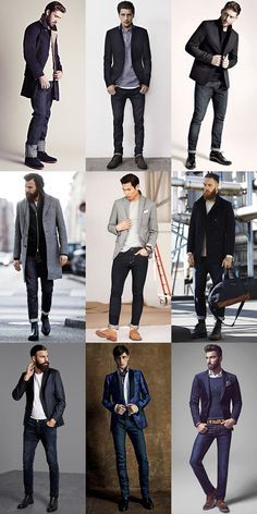 The 5 staples of french style: simple, slim-fit denim loo Dark Jeans Outfit, Dark Denim Jeans, French Man, French Style, Men's Style, Estilo Cool, Herren Outfit, Jean Outfits, Vintage Outfits