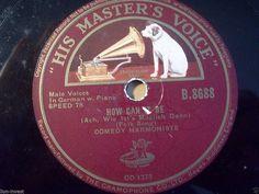 COMEDIAN HARMONISTS  Muss i denn, muss i denn zum Städtele hinaus  HMV 9.1.1933 #78rpm #Schellackplatte