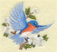 "Machine Embroidery Designs at Embroidery Library! - Product Name: A Victorian Feathers Design Pack - Lg Price:$14.97 Size: 5.87""(w) x 8.17""(h) 2 sets of birds, 1 w words, 1 w/o"