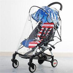 Brand Wind Cap Poncho General Children's Cart Rain Cover Black Transparent Baby Stroller Accessories