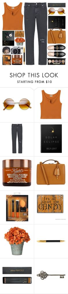 """End of Summer"" by grozdana-v on Polyvore featuring 8, Mark Cross, Sugar Paper, Sloane Stationery, Graham & Brown and Bobbi Brown Cosmetics"