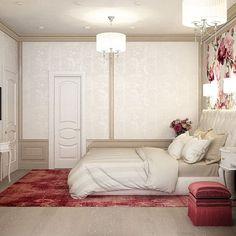 Спальня в классическом стиле…