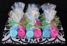 Sparkly Chocolate Covered Oreo favors  http://www.facebook.com/I.Love.Cuteology.Cakes