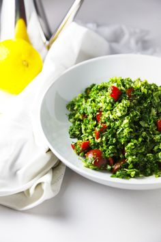 I Quit Sugar - Broccoli Tabouli by Little Big H.