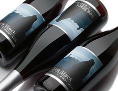 Sea Stack Pinot Noir label design