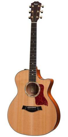 Taylor 514CE Grand Auditorium Cutaway Acoustic Electric Guitar Gibson Guitars, Fender Guitars, Acoustic Guitars, Guitar Art, Cool Guitar, Taylor Guitars, Archtop Guitar, Pumpkin Bars, Guitar Collection