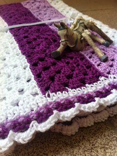 Háčkovaná deka pro miminko crochet blanket saramar blog 527d284cf1