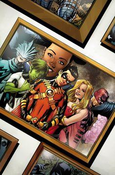 Teen Titans # 24 En esta edición culminante, el equipo se ve obligado a tomar una decisión: continuar la lucha contra la delincuencia como los Titanes ... o ir por caminos separados.