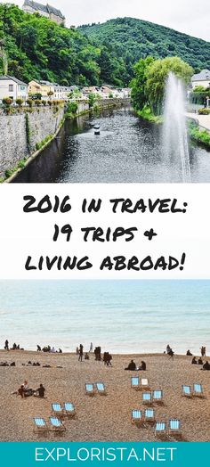 Check out all the beautiful places I traveled to in 2016! Perfect for wanderlusters.... via Explorista.net