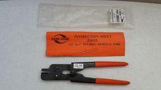 """$14.95 New Sharkbite  23055 Pex Crimp Ring Removal Tool 1/2""""-1"""" USA Cash Acme #CashAcmeSharkbite"""