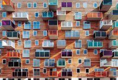 MVRDV, Apartments for elderly people, Amsterdam, The Netherlands, 1994-1997