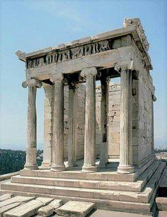 Athena Nike Temple, Athens Acropolis.