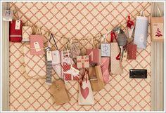 DIY Advent Calendar - lyckoland