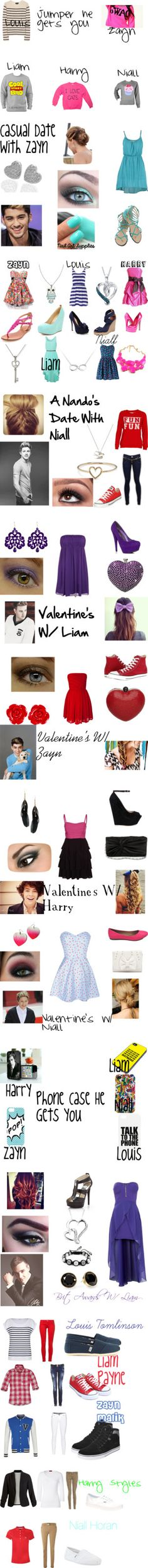 """One Direction Preferences, Imagines, Outfits, and more!"" by avagrace2001 on Polyvore"