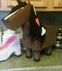 Horse valentine box