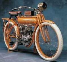 The innovative 1911 Flying Merkel was considered one of the premier motorcycles of its day. See pictures and learn about the 1911 Flying Merkel. Vintage Cycles, Vintage Bikes, Vintage Cars, Motorcycle Design, Motorcycle Bike, Women Motorcycle, Bicycle Design, Antique Motorcycles, Cars And Motorcycles