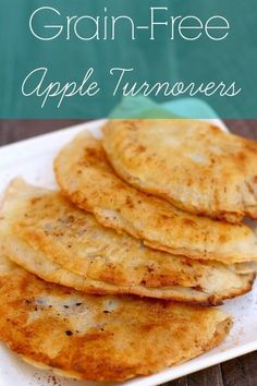 Life just got better. These Paleo Apple Turnovers are light, crispy and delicious!