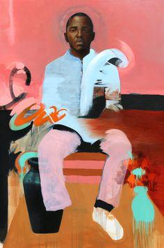 """Saatchi Art Artist: Alex Jackson; Oil 2014 Painting """"Untitled"""""""